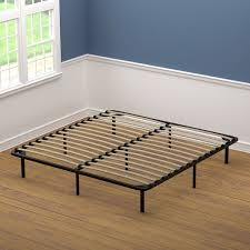 Shop Handy Living King Size Wood Slat Bed Frame - On Sale - Free ...