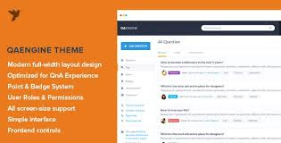Website Templates Wordpress Awesome Question Answer Website Templates From ThemeForest
