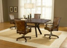 dining room chairs with wheels. Modren Dining Dining Room Chairs With Casters 10 And Room Chairs With Wheels Foter