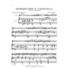 Want to find the perfect music for your intro? Sarasate Pablo Introduction And Tarantella Op 43 For Violin And Piano Published By International Music Company Shar Music Sharmusic Com