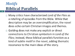 lecture novelii ppt  5 motifs biblical parallels