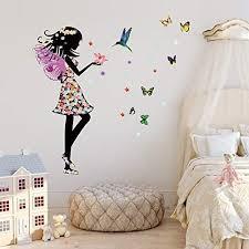 bedroom wall art stickers uk