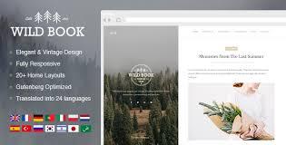 Wild Book - Vintage & <b>Elegant</b> WordPress Blog Theme by ...