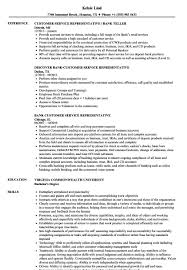 bank customer service representative resume bank customer service representative resume sample 12 skills for