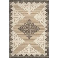 safavieh kenya 9 x 12 hand knotted wool rug in brown and charcoal kny312a 9