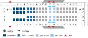 Delta Regional Jet Seating Chart 100 Crj 700 Seating