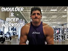 shoulder and biceps workout routine