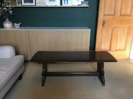 antique wooden coffee table bench