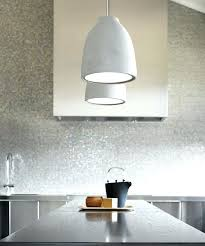 beacon lighting industrial 1 light flat top shaped pendant in weight concrete and cord full size