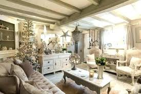 chic living room decor large shabby with built in shelving brick accent wall image of pintere
