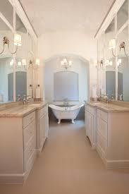 Spa Bathroom Showcases Clawfoot Tub