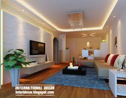 Pop Ceiling Designs For Living Room Living Room Ceilings Ceiling Spotlights In A Modern Eclectic