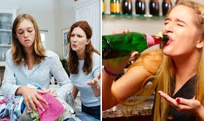 Lie To Drink Teens Their Express If co Binge More uk Likely Parents They Often