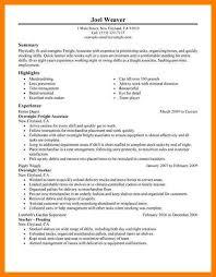 7 Part Time Job Resume Letter Setup