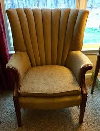 this vintage sam moore furniture chair is believed to date to the early 1950s