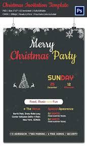 Free Christmas Party Invitation Templates 600 1019