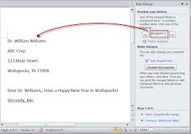 How To Merge A Letter In Microsoft Word 2010 Erpjewels Com