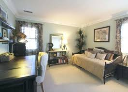 office spare bedroom ideas. Office And Spare Bedroom Ideas Guest Room Wild Grass Wall Color Vista Paint Cane