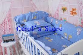 100 cotton embroidery bedskirt kids bedding set crib cotton crib per lovely pattern cot nursery