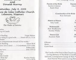 sample wedding ceremony program wedding post wedding program wording awesome simple wedding