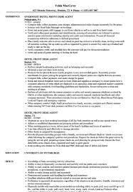 Sample Hotel Resume Front Desk Agent Resume Fresh Hotel Resume Sample Bes Front Desk 37