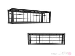 wire cube wall shelf mesh