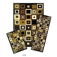 rug sets with runner small tiles 3 set floor runner sets