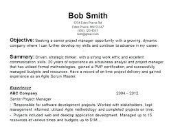 The Best Objective For Resumes Job Objective For A Resume Civil Service Resumes Career Examples