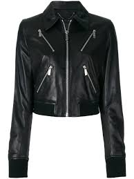 nwt barbara bui leather jacket 1 of 8 see more