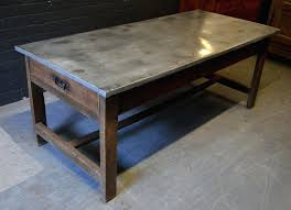 zinc top table french chestnut farmhouse zinc top table 42 round zinc top table zinc top zinc top table zinc top round