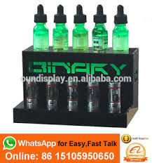 E Liquid Display Stand Vapor Store Eliquid Display LED Lighting Acrylic Color Smoke 66