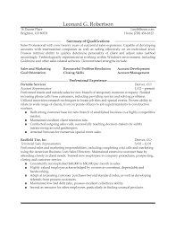 Resume Sle Outside Sample Resume Sales Sample Resume Outside Sales
