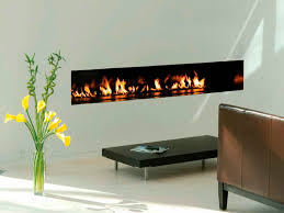 contemporary gas fireplace idea