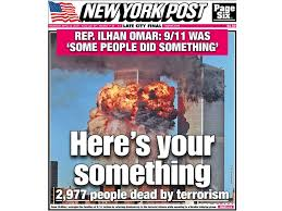 New York Post Uses 911 Front Page To Attack Muslim Congresswoman