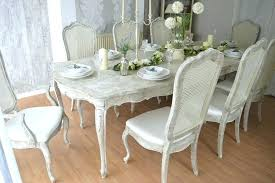 shabby chic dining room table shabby chic dining table and chairs for