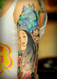 27 Studio Ghibli Tattoos Thatll Make Your Heart Croon идеи для