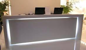 diy reception desk view in gallery diy curved reception desk diy reception desk