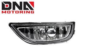 Dna Motoring 01 02 Toyota Corolla Chrome Housing Fog Lights