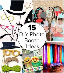 15 easy diy photo booth ideas for your next party build your own photo booth