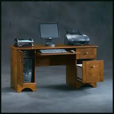 computer desk with locking door