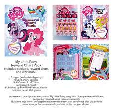 Jual My Little Pony Reward Chart Pack Kab Situbondo Bookbugz Edukasi Tokopedia