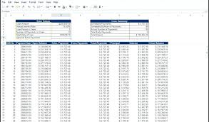 Mortgage Calculator With Principal Payments Amortization Schedule With Extra Principal Payments Excel