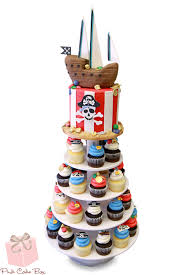 Pirate Themed Birthday Cupcake Stand