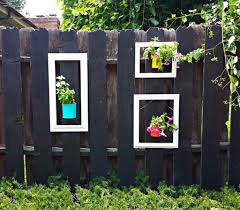 Beautiful Fence Garden Picture Frames