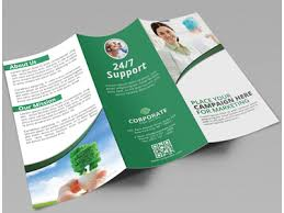 Fold Flyer Creative Corporate Tri Fold Brochure Vol 3 By Jason Lets Just