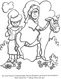 Small Picture free coloring page ruth naomi and boaz gleaning in the fields