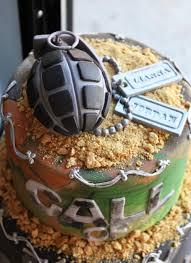 Call of Duty Groom s Cake