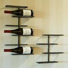 wall mounted wine rack diy wood