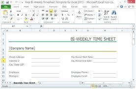 Payroll Time Sheets Free Free Employee Time Sheet Templates Biweekly Payroll