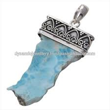 larimar slice 925 sterling silver whole jewelry handmade silver jewelry supplier
